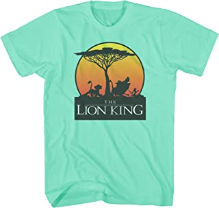 Disney Lion King Sunset Pride Stroll Africa Simba Mufasa Disneyland World Tee Adult Men's Graphic T-Shirt Apparel