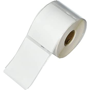 """6 Rolls; 400 Labels per Roll; Compatible with DYMO 30324 Media Labels (2-1/8"""" x 2-3/4"""") - BPA Free!"""