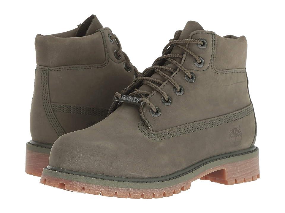 Timberland Kids 6 Premium Waterproof Boot (Little Kid) (Grape Leaf) Kids Shoes
