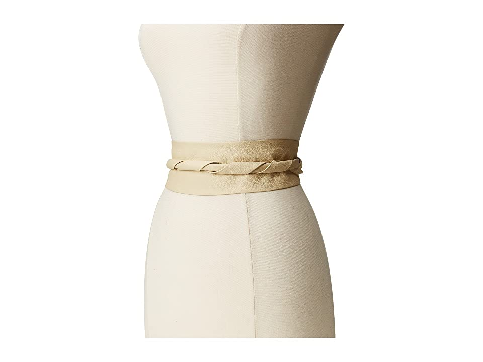 ADA Collection Obi Classic Wrap Belt (Cream) Women