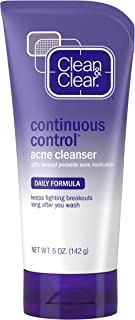Clean & Clear Continuous Control Acne Cleanser, 5-Ounce Hube