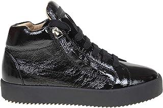 GIUSEPPE ZANOTTI DESIGN Luxury Fashion Womens RW90012002 Black Hi Top Sneakers | Fall Winter 19
