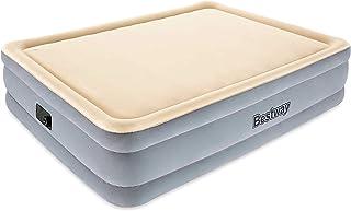 Bestway 67486 - Cama Hinchable Raised Foamtop Comfort (Doble) 203x152x46 cm