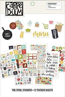 Simple Stories Recipe Sticker Tablet, Multicoloured
