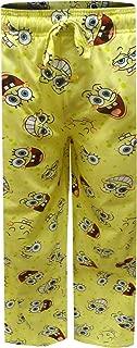 Mad Engine Men's Nickelodeon Spongebob Happy Faces Big Guys Lounge Pants