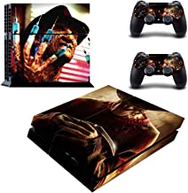 Decal Moments Regular PS4 Console Set Vinyl Skin Decal Stickers Protective for PS4 Playstaion 2 Controllers Freddy