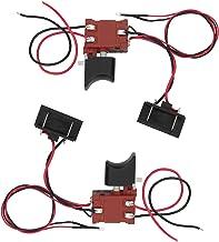 SALUTUYA Fiable con Interruptor de Sierra de luz Interruptor de gatillo de Sierra Interruptor de Control de Sierra de regulación de Velocidad Continua para Sierra de 12V-21V