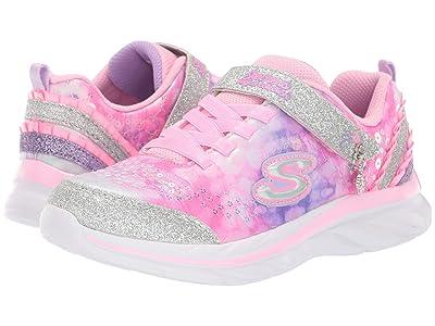 SKECHERS KIDS Quick Kicks 81428L (Little Kid/Big Kid) (Pink/Lavendar) Girl