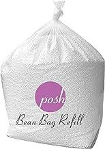 Posh Creations AMZ-EPS-100L Bean Bag Refill, 100 L, Virgin New White