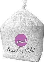 Posh Beanbags Bean Bag Refill, Single Pack, Virgin New White