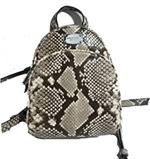 f4a3a3aee9ce Michael Kors ABBEY Embossed Leather Backpack