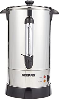 Geepas Electric Kettle 10L 1650W - Cordless Tea Kettle, Auto Shut-Off & Boil-Dry Protection, Cool Touch Handle with Water ...