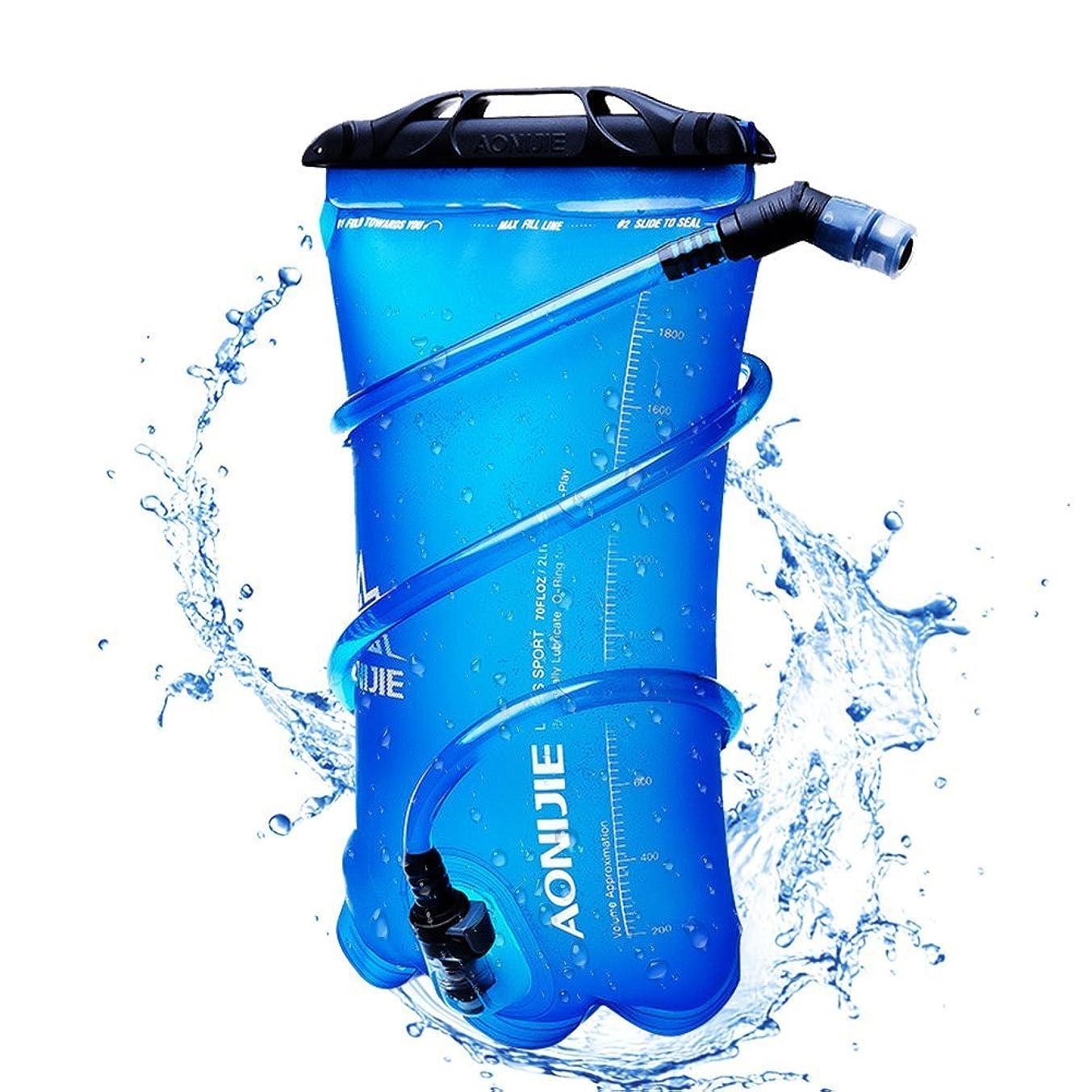 接尾辞半導体逆にAONIJIE ハイドレーション 水分補給 防災 ハイキング 登山 サイクリング 1.5L 2L 3L