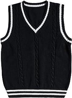 Steampunk Black Vest Long Vest Winter Vest Plus Size Clothing Gothic Clothing Maxi Sweater Vest Plus Size Vest Oversized Wool Vest