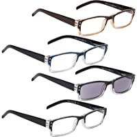 4-Pack LUR Reading Glasses