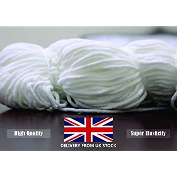 20 Meter Mask Elastic Band For Sewing Mask 3mm Round Elastic