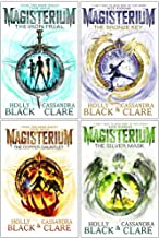 The Magisterium Series 4 Books Set (The Iron Trial, The Copper Gauntlet, The Bronze Key, The Silver Mask)