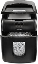 Swingline 1757571 Stack-and-Shred 100X Auto Feed Shredder Super Cross-Cut 100 Sheets 1-2 Users photo
