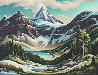 Thomas Hart Benton Giclee Canvas Print Paintings Poster Reproduction(Trail Riders) #XFB