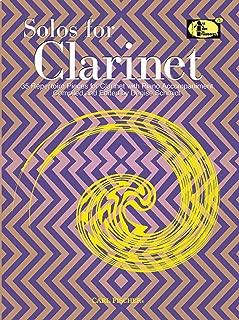clarinet solo repertoire