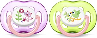 Philips Avent SCF186/25 Yalancı Emzik 18 + 2'li Kız, Çok Renkli