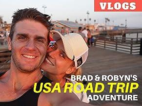 Brad & Robyn's USA Road Trip Adventure Vlogs