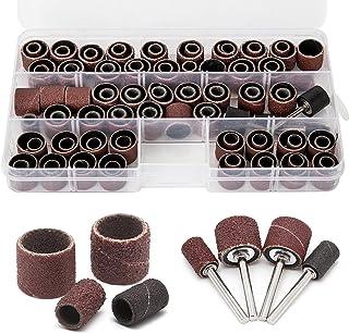 Accessories Drum mandrels 80-600 Grit 388PCS Sanding Bands Drum Sleeve