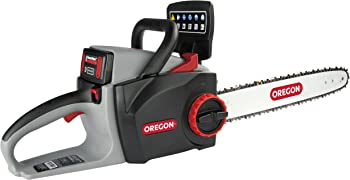 Oregon Cordless Chainsaw Kit with 4.0 Ah Battery and Charger