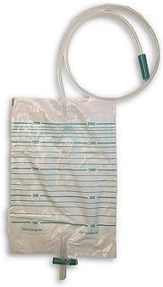 Paquete de 2 bolsas de drenaje de orina de 2000 ml, esté