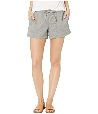 Prana Milango Shorts (Pebble Grey) Women