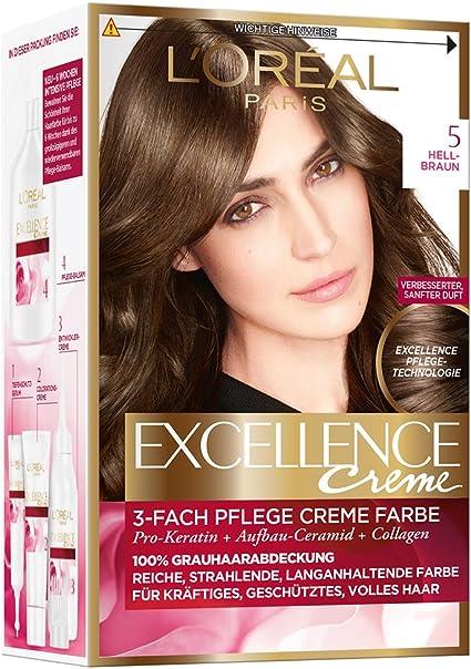 LOréal Paris Excellence Coloración Permanente, 10 Rubio ...