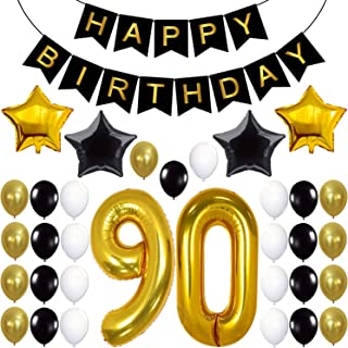 90th birthday balloons delivered