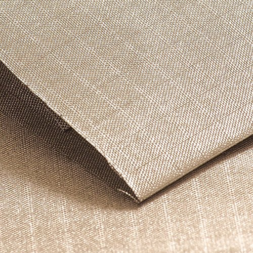 emf shielding fabrics EDEC Signal Shielding Fabric for RF and EMF Protection, Nickel Copper Rip Stop Material (3 Linear Feet)
