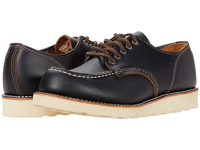 Men's Vintage Workwear – 1920s, 1930s, 1940s, 1950s Red Wing Heritage Work Oxford Black Klondike Mens Shoes $121.50 AT vintagedancer.com