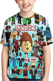 Maichenxuan Ro-Blox - Camiseta para niños, camiseta para adolescentes, cuello redondo, para niños, niñas y niños