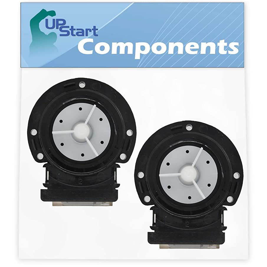 2-Pack 4681EA2001T Washer Drain Pump Motor Replacement for Kenmore/Sears 79641022900 Washing Machine - Compatible with 4681EA2001T Water Pump - UpStart Components Brand