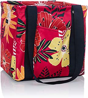Thirty One Small Utility Tote - 9337 - No Embroidery - in Tropical Garden