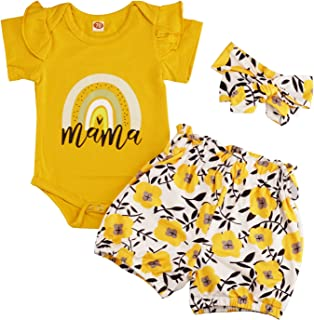 Newborn Bady Girl Clothes Outfits, Cute Toddler Bodysuit...