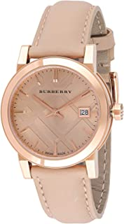 Burberry Women's Leather Band Watch