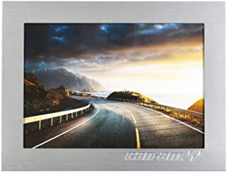 Can-Am On-Road Silver Aluminum Picture Frame 5 x 7 inches, 5