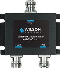 Wilson Electronics 3 dB 2-Way Splitter: N-Female - 50 Ohm (859957)