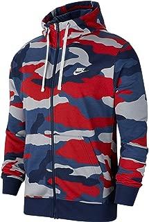 Men's Sportswear Camo Club Fleece Full Zip-Up Hoodie BV3622