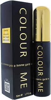 Colour Me | Femme Gold | Parfum de Toilette | Perfume Spray | Womens Fragrance | Oriental Fruity Scent | 1.7 oz