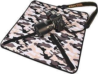 حقائب الكاميرا/الفيديو - غطاء حماية من قماش التصوير المقاوم للماء بتصميم تمويه رودفيشر لكاميرا كانون 5D3 6D 7D 80D 800D لن...