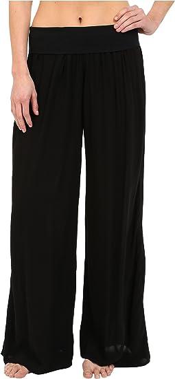 Flat Waist Pants