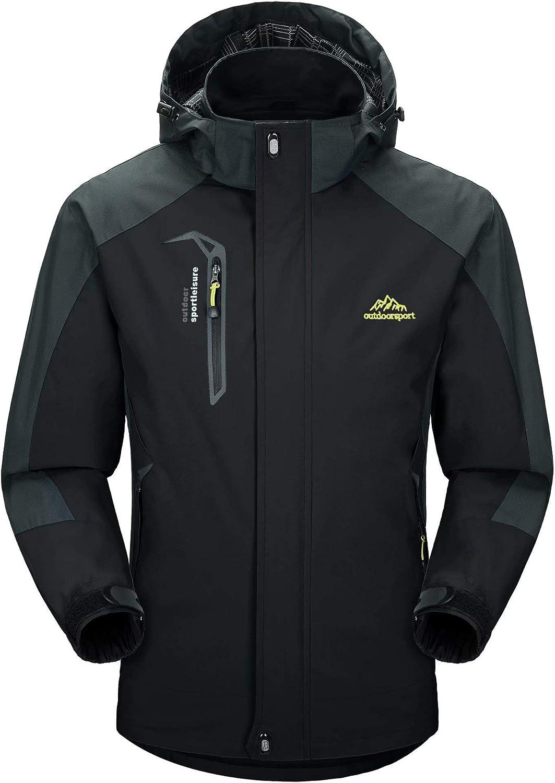 Rapid rise MAGCOMSEN Men's Hooded Waterproof Rain Lightweight Jacket Ranking TOP11