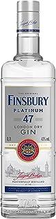 Finsbury 47 Gin mit 47% vol. - Der 6-fach destillierte Premium Gin aus London seit 1740 - Wacholder, Zitrone, Orange und Minzaromen - Perfekt für Gin & Tonic und Martini-Cocktails - 1x 0,7l