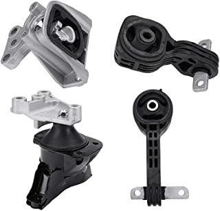 Juego de 4 soportes para motor y transmisión, compatible con Honda Civic 2006-2010 1.8L con Trans Automático - Sustituye a...
