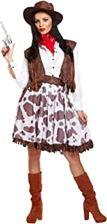 WILD WEST WESTERN COWGIRL ADULT LADIES WOMENS COSTUME (disfraz)