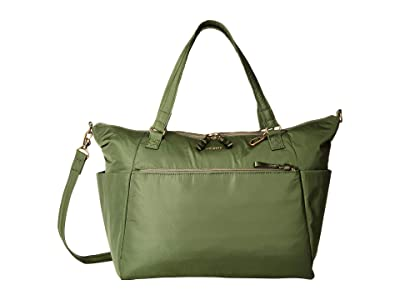 Pacsafe Stylesafe Anti-Theft Tote (Kombu Green) Tote Handbags